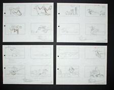 Signed Friz Freleng Pink Panther Storyboard Set 8, 1967
