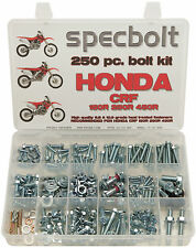 SPECBOLT 250pc Bolt Kit Honda CRF150R CRF250R CRF450R Plastics Body Engine Brake