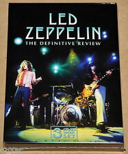 LED ZEPPELIN - THE DEFINITIVE REVIEW, 2006 EU 3DVD SET, SEALED! FREE SHIPPING!