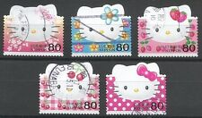 ˳˳ ҉ ˳˳G9 Japan Commemorative Greeting Hero Kitty 2004complete set manga