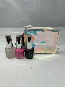 OPI Positive Vibes Only - 3pc Infinite Shine Neon Collection:  V-I-Pink Gift Set