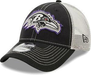 Baltimore Ravens NFL Team Mesh 9FORTY Snapback Hat Cap Football Headwear Men's