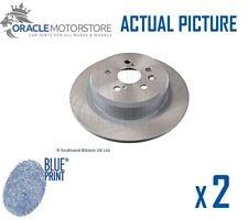 2 x neue Blue Print hinten BREMSSCHEIBEN SATZ BREMSEN Bremsscheiben Paar OE Qualität ADT34354
