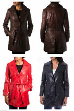 Knee Length Single Breasted Casual Coats & Jackets for Women