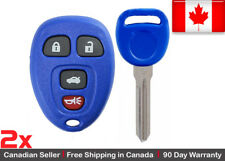 2x Blue New Replacement Keyless Entry Remote Control Key Fob For Chevy Buick GMC