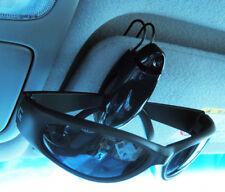 Sunglass Visor Clip Sunglasses Eyeglass Holder Car Auto Reading Glasses Black !!