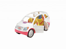 NEW Fisher-Price Loving Family SUV Van Car Dollhouse Blue Minivan Mini Sounds