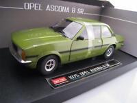Opel Ascona B SR 1975 in grün  Sun Star  1:18  OVP  NEU
