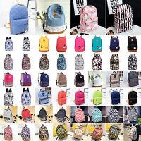 Damen Schulrucksack Sporttasche Schule Schulranzen Backpack Rucksack Reise Girls