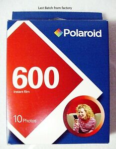 Polaroid 600 instant film 10 exp | Last OEM Batch from Factory | New | NOS | $39