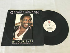 "GEORGE BENSON IN YOUR EYES 1983 UK RELEASE 12"" 45 SINGLE"