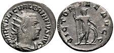 VALERIAN (254 AD) BI Antoninianus. Viminacium #KI 6350