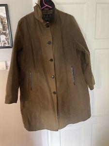 ladies barbour wax jacket size 16