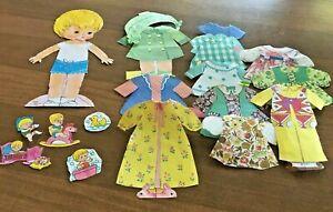 Vintage 1971 Littlest First Born Paper Doll Whitman