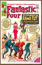 Fantastic Four #19  poster art print '92  Jack Kirby   Rama Tut