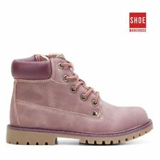 Grosby BILLY G Purple Girls Ankle Boot Casual PU Boots