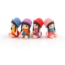 1PC Lovely Fairy Garden Miniature Girls DIY Micro Landscape Ornament Decor UK