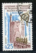 STAMP / TIMBRE FRANCE OBLITERE  N° 1566  LIBERATION DES PRISONNIERS HUGUENOTES
