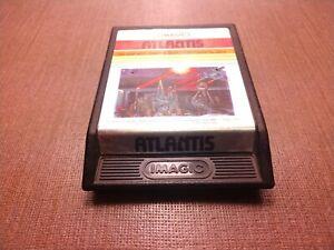 Atari 2600 Cart Only Tested Atlantis Ships Fast