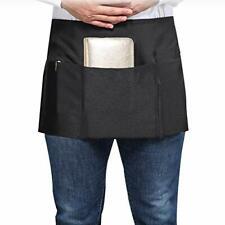 Songxin Server Aprons with 3 Deep Pockets - Waist Apron Waiter Waitress Apron