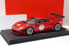 1:18 BBR Ferrari 458 Italia GT3 Rosso red #GT3 NEW bei PREMIUM-MODELCARS