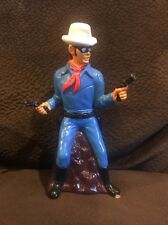 Vintage Lone Ranger Plastic Bank 1977 See Pictures