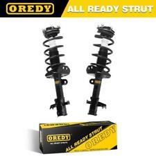 Pair (2) Front Quick Complete Shocks Struts & Coil Springs For Honda CRV 07-11