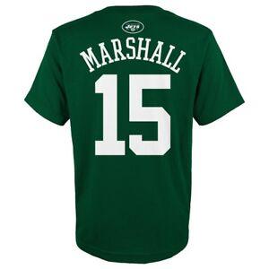 "Brandon Marshall NFL New York Jets ""Mainliner"" Green Jersey T-Shirt Youth (S-XL)"