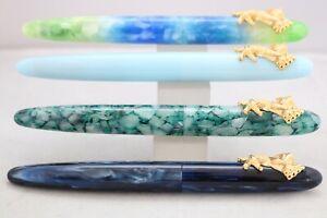 PenBBS No. 486 Fine Fountain Pen, 4 Finishes, UK Seller