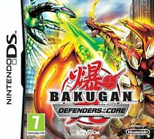 Bakugan Battle Brawlers: Defender of the Core Nintendo DS Lite DSi XL Brand New