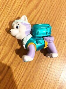 Paw Patrol Metallic Everest Pup Figure Rescue Rare used