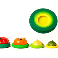 4Pcs/set Flexible Silicone Fruit Vegetable Food Huggers Storage Cover Storages