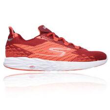 Scarpe da ginnastica da uomo rossi marca Skechers performance