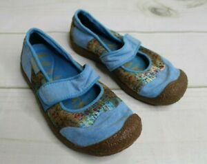 Women's 6 Keen Harvest Mimosa Mary Jane Floral Pattern Shoes