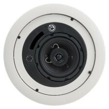 "Atlas Sound FAP42TC 4"" Enclosed Ceiling Speakers White - Sold as Pair"