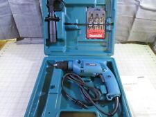 Makita Hp1501kx 916 Hammer Drill Kit With Bit Set 120v Corded Nos