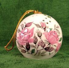 Pomander Potpourri Air Freshener Pink Rose Ornament