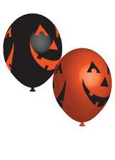 Gothic zucca di Halloween Festa Palloncini Confezione da 6