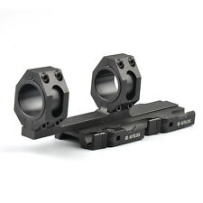 US Quick Detach 25mm-30mm Ring Scope Mount QD Lock 20mm Rail For Rifle Hunting