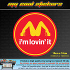 I'm Lovin' It 10cm Vinyl Sticker Decal, 4X4 Ute Car window funny Im Loving It