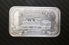 1 Oz .999 Silver CHATTANOOGA LOCOMOTIVE LIMITED EDITION S.N 853 #1338
