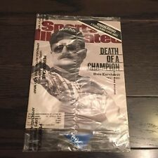 SEALED NOS February 26, 2001 Dale Earnhardt SPORTS ILLUSTRATED Death of Champion
