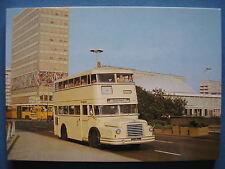 AK Ansichtskarte Postkarte Bus Doppeldecker DO56 BVG Berlin 1956 Umbau 1963