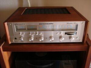MARANTZ WC-122 short case cabinet walnut original wood stereo receiver