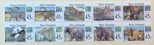 New Zealand mammals / fauna MNH block of 10 SCV $10.00 Priced to Sell!