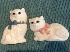 Vintage Homco/Home Interior Kitten wall hangings, set of 2, Home Decor