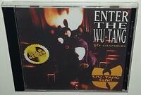 WU-TANG CLAN ENTER THE WU-TANG: 6 CHAMBERS BRAND NEW SEALED CD RZA METHOD MAN