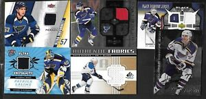 ST.LOUIS BLUES AUTOGRAPH JERSEY NHL HOCKEY CARD SEE LIST
