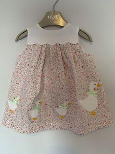 Baby Girl 'Confiture' Aplique Dress 3-6 Months. BNWT