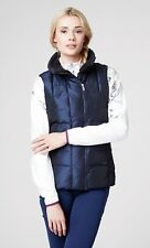 £175 Helly Hansen Iona Natural Feather Down Gilet Bodywarmer - Size XS 6-8